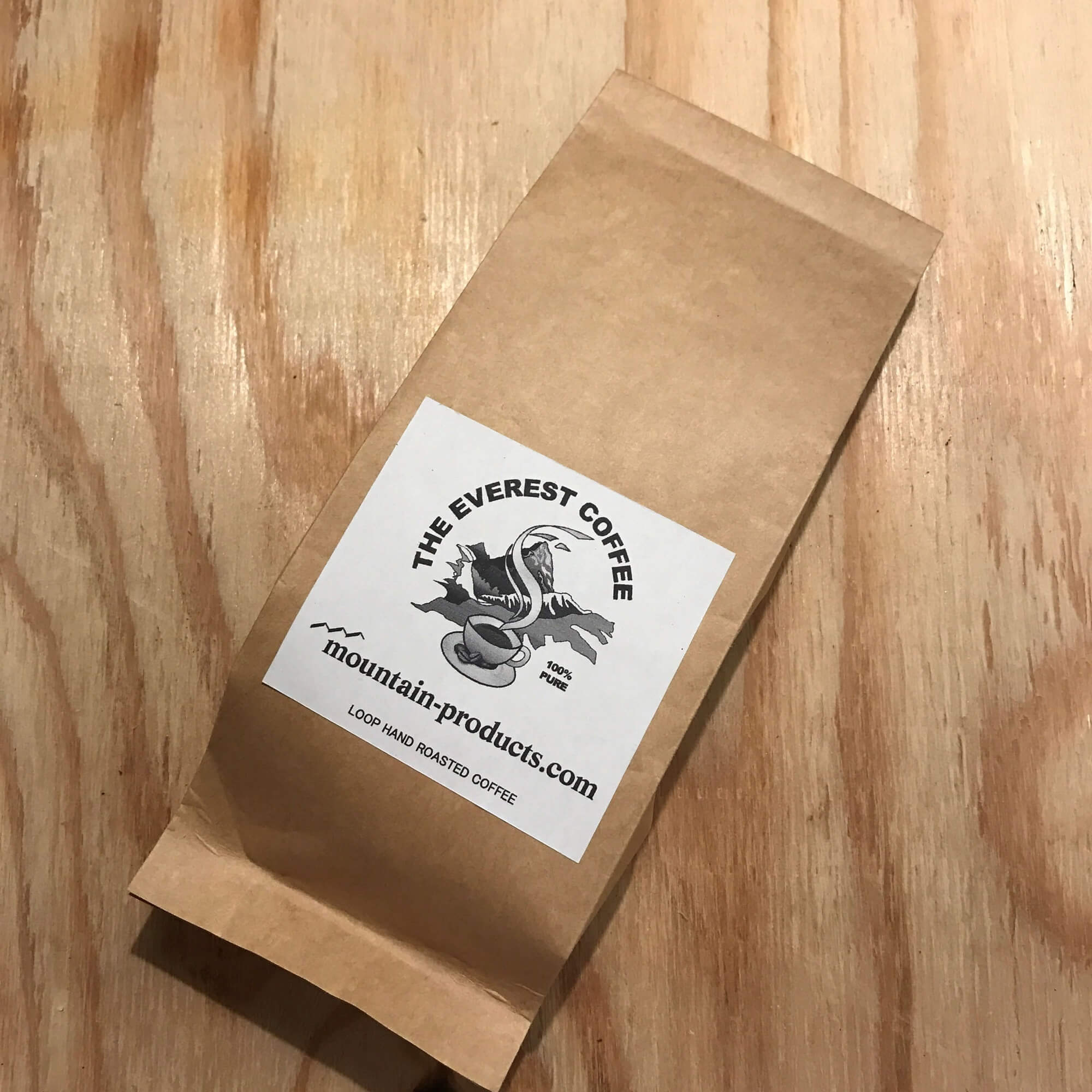 THE EVEREST COFFEE  Roasted beans 200g package 豆